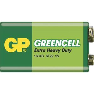 GP Greencell 6F22 9 V