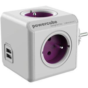 Powercube ReWirable USB Fialový